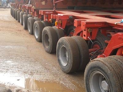 Transport hors gabarit Senegal Dakar