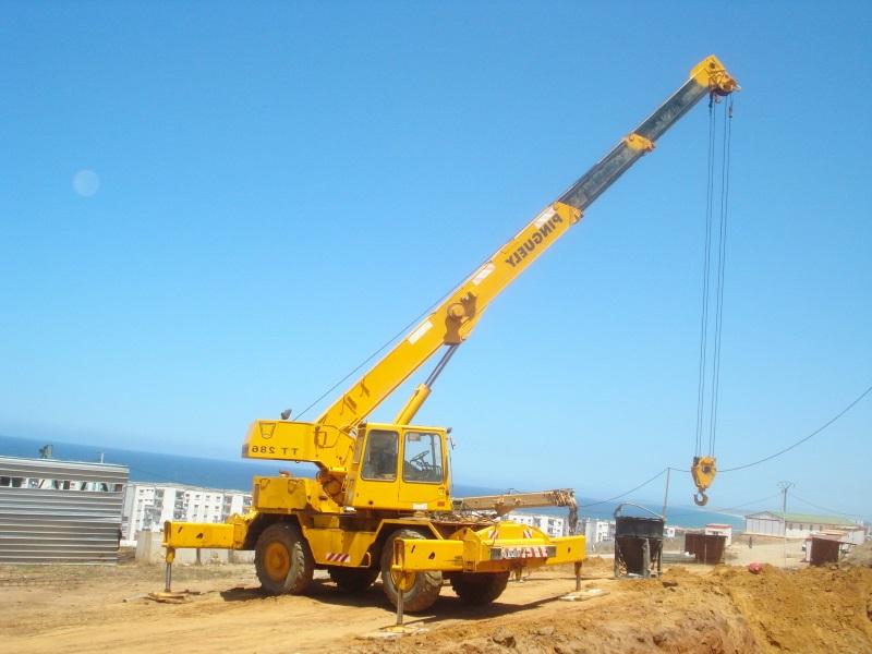 Comment se porte le marche la locationengins de chantier Senegal
